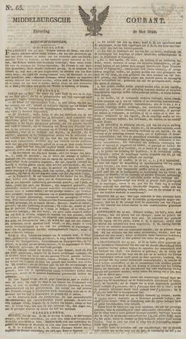 Middelburgsche Courant 1829-05-30