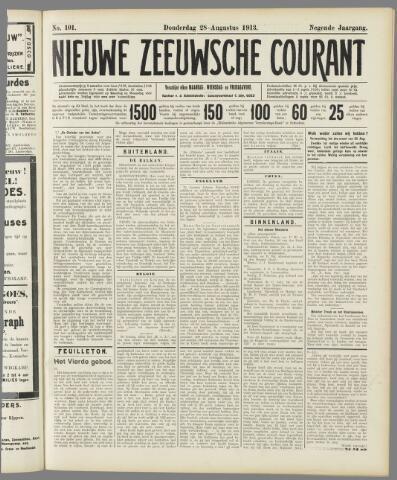 Nieuwe Zeeuwsche Courant 1913-08-28