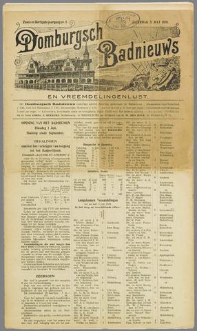 Domburgsch Badnieuws 1919