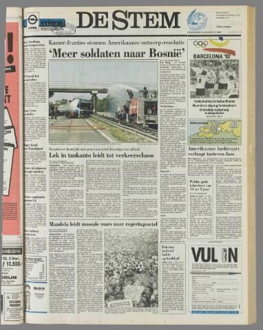 de Stem 1992-08-06
