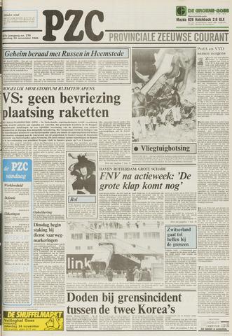 Provinciale Zeeuwse Courant 1984-11-24