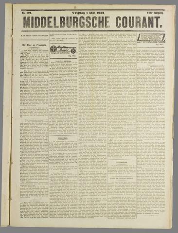 Middelburgsche Courant 1925-05-01