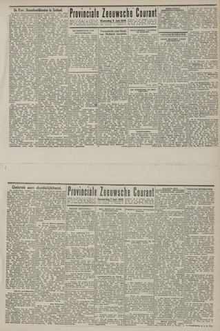 Provinciale Zeeuwse Courant 1945-06-06