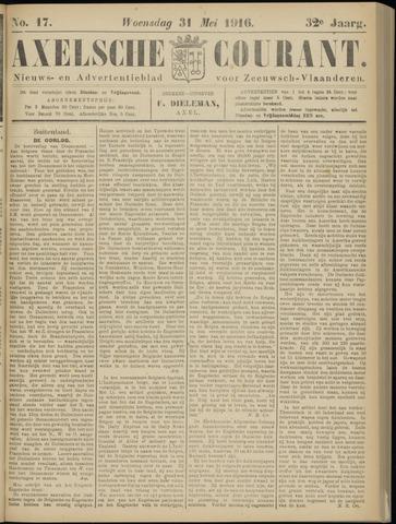 Axelsche Courant 1916-05-31