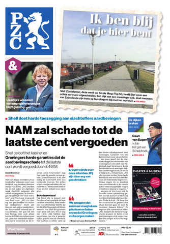 Provinciale Zeeuwse Courant 2018-01-31