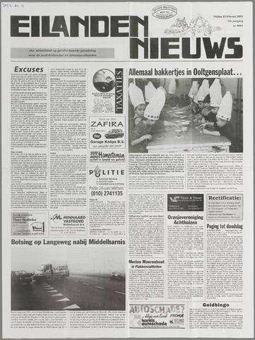 Eilanden-nieuws. Christelijk streekblad op gereformeerde grondslag 2000-02-25
