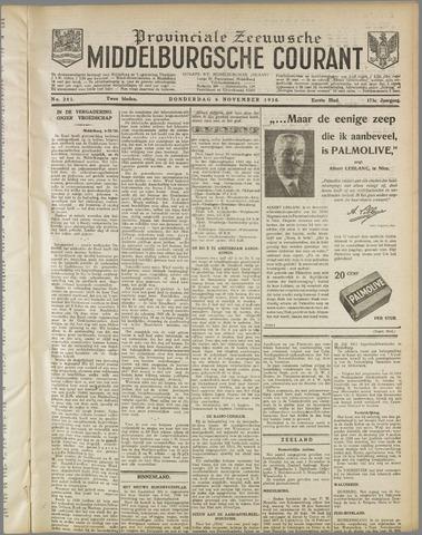 Middelburgsche Courant 1930-11-06