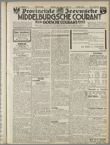 Middelburgsche Courant 1937-06-22