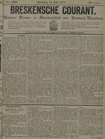 Breskensche Courant 1911-07-15