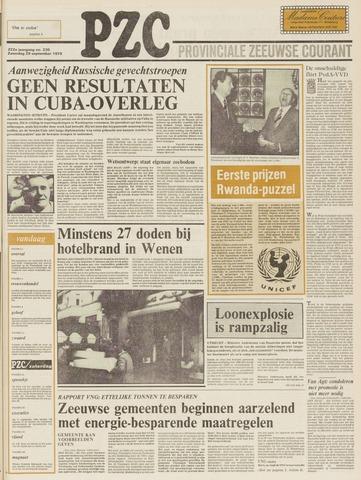 Provinciale Zeeuwse Courant 1979-09-29