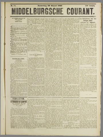 Middelburgsche Courant 1925-03-28