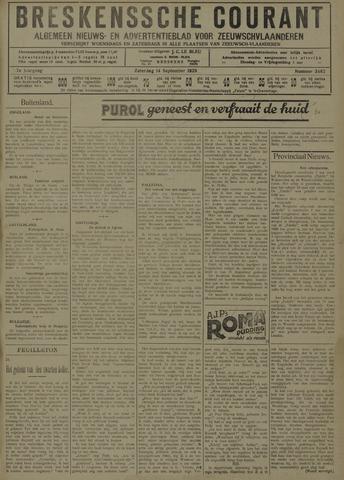 Breskensche Courant 1929-09-14