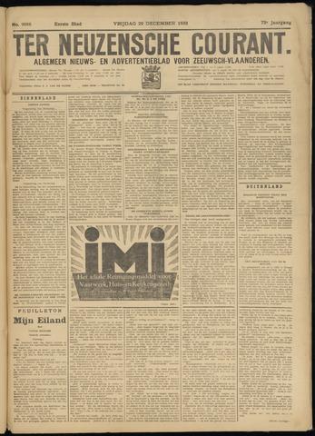 Ter Neuzensche Courant. Algemeen Nieuws- en Advertentieblad voor Zeeuwsch-Vlaanderen / Neuzensche Courant ... (idem) / (Algemeen) nieuws en advertentieblad voor Zeeuwsch-Vlaanderen 1933-12-29