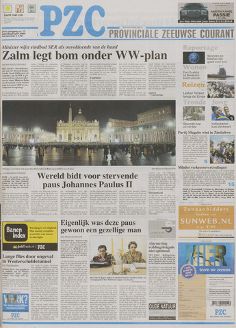 Provinciale Zeeuwse Courant 2005-04-02