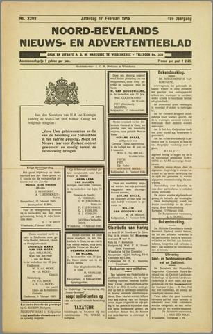 Noord-Bevelands Nieuws- en advertentieblad 1945-02-17