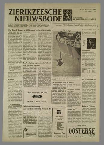 Zierikzeesche Nieuwsbode 1965-11-26