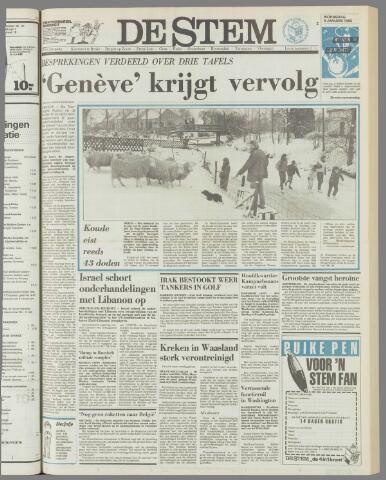 de Stem 1985-01-09