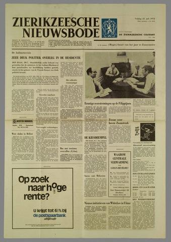 Zierikzeesche Nieuwsbode 1972-07-21