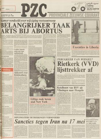 Provinciale Zeeuwse Courant 1980-04-23