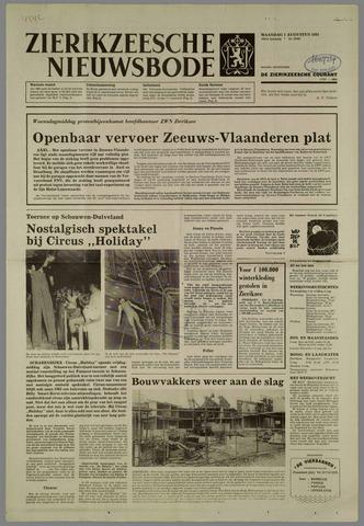 Zierikzeesche Nieuwsbode 1983-08-01