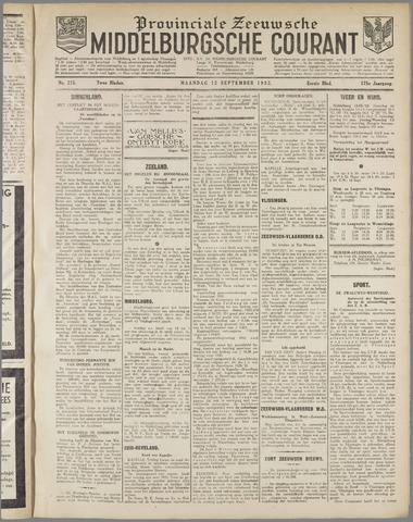 Middelburgsche Courant 1932-09-12