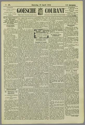 Goessche Courant 1924-04-19