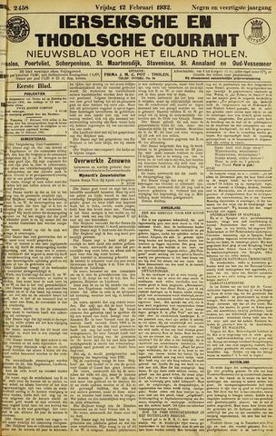 Ierseksche en Thoolsche Courant 1932-02-12