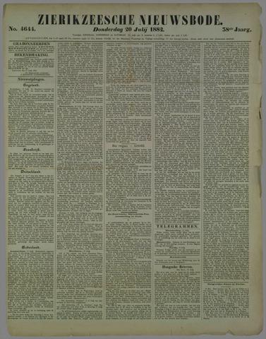 Zierikzeesche Nieuwsbode 1882-07-20