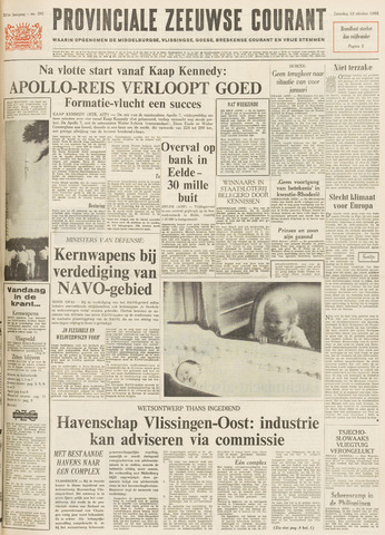 Provinciale Zeeuwse Courant 1968-10-12