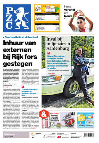 Provinciale Zeeuwse Courant 2017-07-14