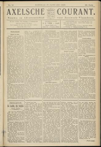 Axelsche Courant 1928-01-17