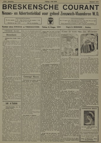 Breskensche Courant 1936-05-01