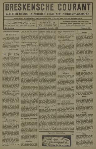 Breskensche Courant 1924-12-24