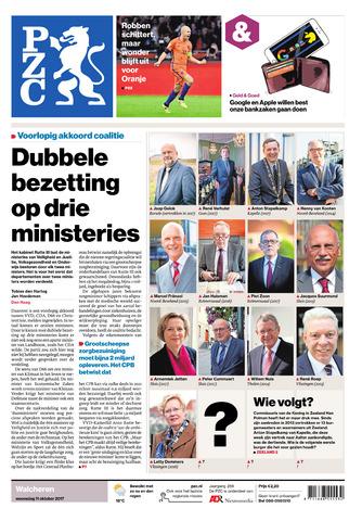 Provinciale Zeeuwse Courant 2017-10-11