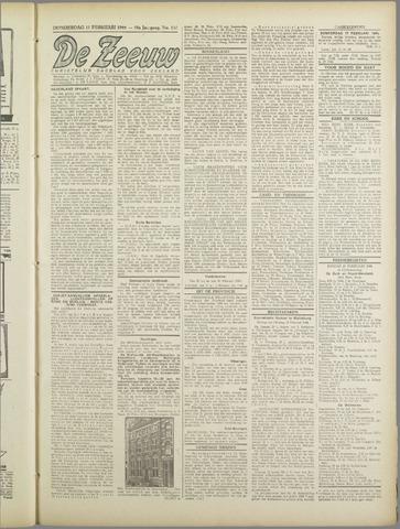 De Zeeuw. Christelijk-historisch nieuwsblad voor Zeeland 1944-02-17