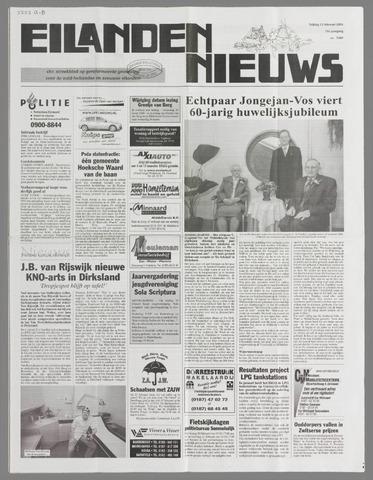 Eilanden-nieuws. Christelijk streekblad op gereformeerde grondslag 2004-02-13