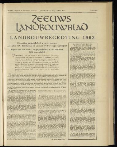 Zeeuwsch landbouwblad ... ZLM land- en tuinbouwblad 1961-09-23