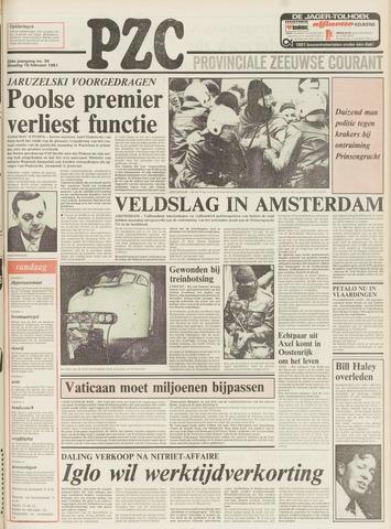 Provinciale Zeeuwse Courant 1981-02-10