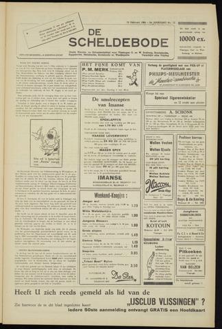 Scheldebode 1954-02-12