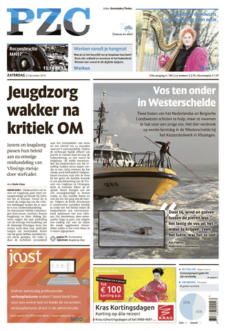 Provinciale Zeeuwse Courant 2014-12-27