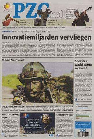 Provinciale Zeeuwse Courant 2011-09-29