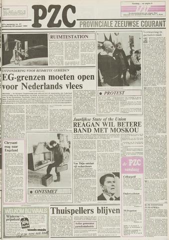 Provinciale Zeeuwse Courant 1984-01-26