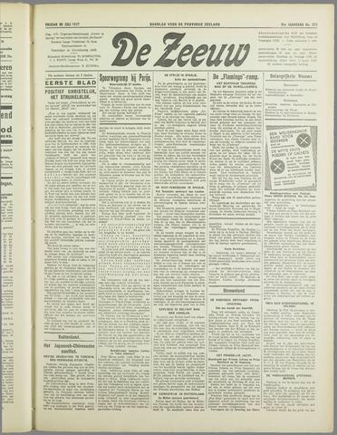 De Zeeuw. Christelijk-historisch nieuwsblad voor Zeeland 1937-07-30