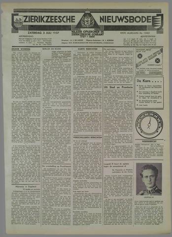 Zierikzeesche Nieuwsbode 1937-07-03