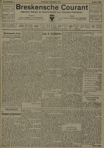 Breskensche Courant 1930-09-03