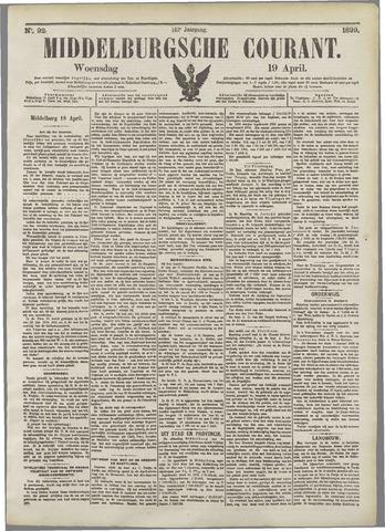 Middelburgsche Courant 1899-04-19
