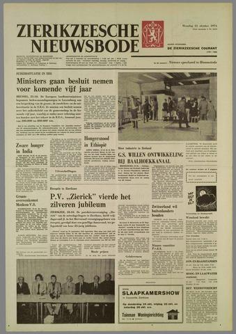 Zierikzeesche Nieuwsbode 1974-10-21