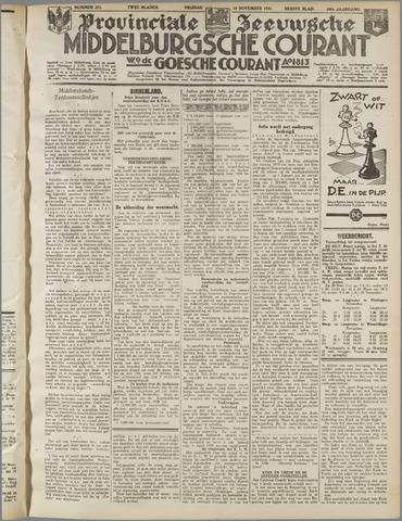 Middelburgsche Courant 1937-11-19
