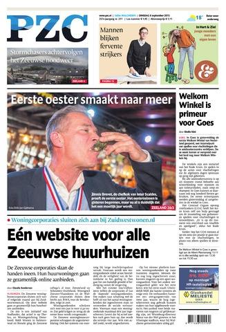 Provinciale Zeeuwse Courant 2015-09-08