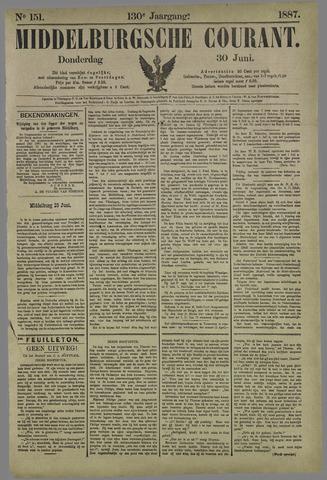 Middelburgsche Courant 1887-06-30